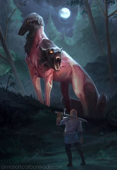 The amazing digital art of iZonbi Fantasy+ 5 - World's Most Imaginative Artworks Mythical Creatures Art, Weird Creatures, Fantasy Creatures, Fantasy Monster, Monster Art, Creature Concept Art, Creature Design, Arte Horror, Horror Art