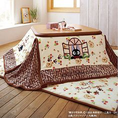 Kiki's Delivery Service FUTON & MAT SET for Kotatsu Foot Warmer Y rectangle type in Collectibles, Animation Art & Characters, Japanese, Anime   eBay