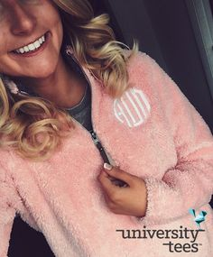 Fuzzy fleeces for the win I Alpha Omicron Pi I Made by University Tees I Apparel Designs | Custom Greek Apparel | Sorority T-Shirts | Sorority Shirt Designs I Greek T-shirts I Greek Life