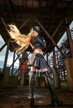 Noragami - Bishamon good cosplay but her hair should be longer Noragami Cosplay, Noragami Anime, Cosplay Anime, Epic Cosplay, Amazing Cosplay, Cosplay Outfits, Cosplay Girls, Anime Manga, Steampunk Costume