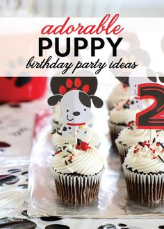 An Adorable Puppy Dog Themed Birthday Party