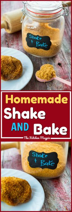 How to Make the best Homemade Shake and Bake! No need to buy it from the store any longer -this is cheaper and there's no trans fats or hydrogenated oils in this recipe! #homemade #chicken #shakeandbake