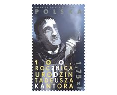 COLLECTORZPEDIA: Poland Stamps 100th anniversary of the birth of Tadeusz Kantor