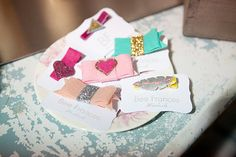 Hair clips handmade with love  Photo from Farm House collection by Elizabeth Newton Photography
