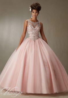 vestidos-de-quinceanos-en-color-rosa-1 | Ideas para Fiestas de quinceañera - Decórala tu misma
