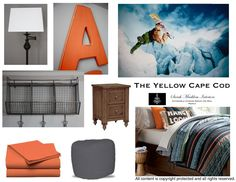 Except with baseball theme. The Yellow Cape Cod: 50 Plus Custom Room Designs