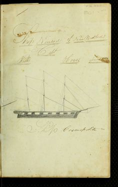 "How cool is this? A completely hand written ship's log, from ""[Logbook of the Nimrod (Ship) of New Bedford, Mass., mastered by Willis Howes, kept by Willis Howes, on voyage from 18 Sept. 1857-14 July 1861] (1857)."""