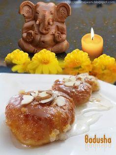 Badusha /Balushai Sweet Recipe