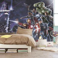 Fresque murale Marvel The Avengers 254cm CityNight Papier Peint Maxi Poster