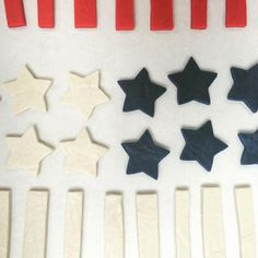 This Chick Bakes: The perfect hostess gift or a delicious and festive addition to your backyard barbeque dessert table.  A portion of the proceeds from each purchase will be donated to Operation Gratitude, a non for profit that sends care packages to troops all over the world. Includes 9 Stripes and 6 Stars. #July4th #4thofJuly #Patriotic