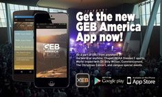 The GEB America app has been updated! Check out the new Go feature, giving you access to special event streams, ORU chapel, sports and more!