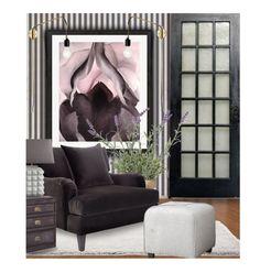 Black Iris..... by queenrachietemplateaddict on Polyvore featuring interior, interiors, interior design, home, home decor, interior decorating, Threshold, Eichholtz, Jonathan Adler and Menu