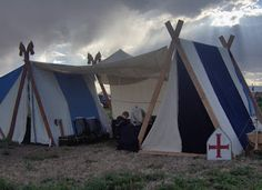Crafts and Ideas for the Modern Viking: Viking Tent this looks like a retail site but ain't this grand?