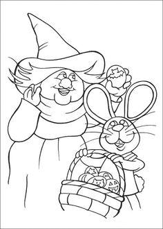 Peter Cottontail Kleurplaten voor kinderen. Kleurplaat en afdrukken tekenen nº 47