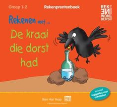 Rekenprentenboek Rekenwonders (gratis ebook) Numbers For Kids, Ebook Cover, Free Comics, Book Illustration, School Projects, Free Ebooks, The Creator, Author, Water