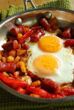Spanish Chorizo Breakfast Skillet