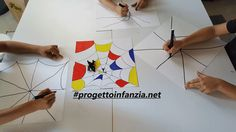 """""""Lo sciocco confine"""" e l' arte di Mondrian - Laboratori nelle scuole Mondrian, Cos, Triangle, Halloween, Dots, Spooky Halloween"""