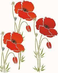 single poppy flower - Google Search