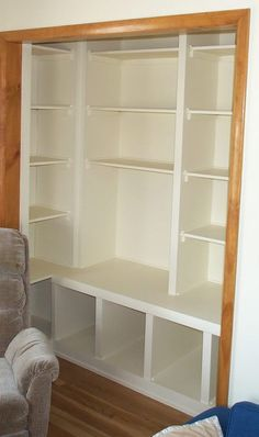 Playroom Closet Shelving   Dad Stays Home   Place For Stay At Home Dads To  Share Daddyhood Experiences