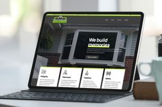 New website for LiVorio Construction based in North Huntingdon, PA. They specialize in window and door installations and replacements. #windows #doors #newwebsite #constructionwebsite #construction #websitedevelopment Construction Website, Design Projects, Windows, Doors, Ramen, Window, Gate