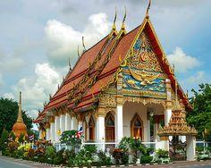Wat Puuta Mongkol - a Buddist Temple in Phuket Town, Thailand.