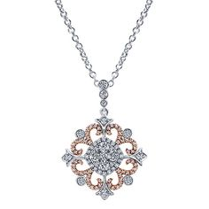 White/pink Gold Amavida Fashion Style Fashion Necklace With Diamond Art Deco Jewelry, Modern Jewelry, Pendant Jewelry, Jewelry Design, Fashion Necklace, Fashion Rings, Fashion Jewelry, Style Fashion, Gold Pendent