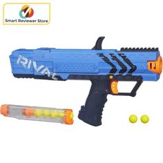 ORIGINAL Nerf Rival Apollo XV 700 Blaster Blue Toy Gun Shoot Fire Balls Kids. Nerf Rival Apollo XV-700 Blaster, Blue Spring-action Nerf Rival Apollo Blaster comes with seven high-impact rounds. Toys Outdoor Play NERF Blaster Toys. | eBay!