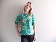 And then there were four.   In addition to the two Laurel dresses I showed you last week, I also made two Laurel tops that have had...