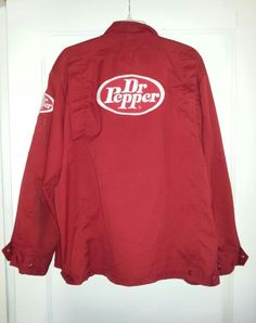 Cool dr pepper driver's jacket from the 70's.