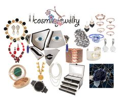 """""""Cosmic Jewelry!"""" by lalu-papa on Polyvore featuring Mariah Carey, Dolce&Gabbana, Georgia Perry, Oscar de la Renta, Theia Jewelry, Valentino, Lynn Ban, Michael Kors, Ginette NY and Kenneth Jay Lane"""