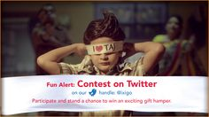 #ContestAlert participate & win BIG! Follow ixigo.com on Twitter -