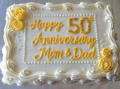 wedding anniversary cakes ideas wedding anniversary cake ideas lovely best wedding anniversary sheet cakes styles ideas trendy golden wedding anniversary cake toppers uk You are in the right plac Wedding Sheet Cakes, Birthday Sheet Cakes, Cool Birthday Cakes, 50th Wedding Anniversary Cakes, Anniversary Parties, Anniversary Ideas, Anniversary Cookies, Golden Anniversary Cake, Anniversary Scrapbook