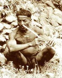 Warrior with Chaklag breast tattoo playing a nose flute - Best Tattoos Waist Tattoos, Head Tattoos, Forearm Tattoos, Traditional Filipino Tattoo, Hawaiian Tattoo Meanings, Canadian Tattoo, Nape Tattoo, Filipino Tribal Tattoos, Filipino Culture