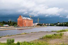 Old mill in Oulu Finland   by arto häkkilä