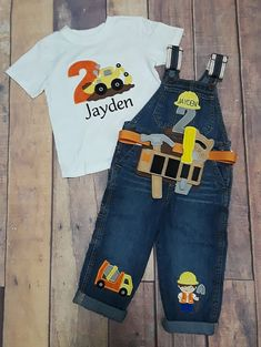 0f152d22 29 Best Construction birthday shirt images | Construction birthday ...