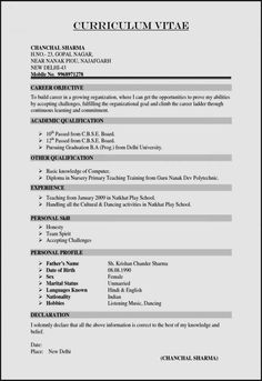 Curriculum Templates for Teachers and 20 Fresh Resume Template Professional Free Resume Templates Cv Resume Sample, Resume Pdf, Basic Resume, Student Resume Template, Sample Resume Templates, Letter Templates, Resume Tips, Resume Template Free, Latest Resume Format