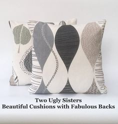Your place to buy and sell all things handmade Beige Cushions, Printed Cushions, Scatter Cushions, Throw Pillows, Cushion Pads, Cushion Covers, Grey Tote Bags, Fabric Storage Baskets, Modern Pillows
