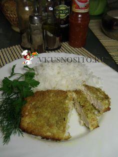 куриный шницель рецепт, chicken schnitzel