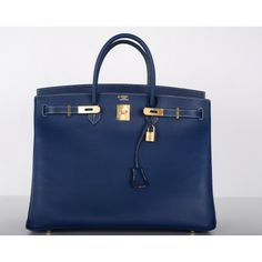 Navy blue Birkin. I would love to wear this with just a simple washed out jeans, baggy white t-shirt and a navy blue or grey blazer..