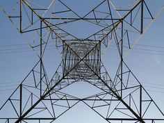 Volleyball court is under this high tension tower by Ankur P, via Flickr