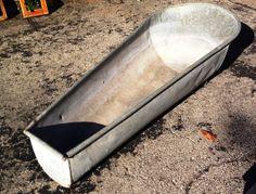 Antique Galvanized Steel Cowboy Bathtub Adult By Theperidotwindow, $240.00