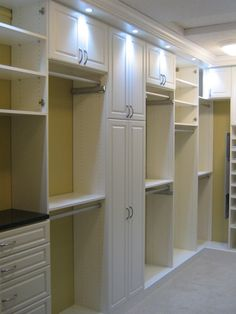 Love this......a ton of different closet ideas for every member of the family, and not only for clothes, but for other household items as well