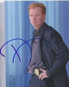 David Caruso Autographed Signed 8X10 Photo COA 'Csi: Miami' Lieutenant Horatio C