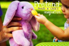How pretend play develops