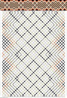Muster # 48635, Streicher: 42 Zeilen: 56 Farben: 5