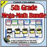 5th Grade Math Morning Work, Homework, Class Work, and Tests