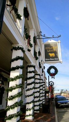 Step back in time at the Golden Lamb in Lebanon, OH! Try the food and stay the night at Ohio's oldest Inn!