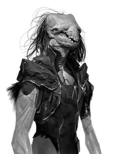 ArtStation - I like to swim with no pants, Anthony Jones Monster Design, Monster Art, Creature Concept Art, Creature Design, Dark Fantasy, Fantasy Art, Anthony Jones, Aliens, Special Characters