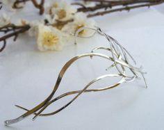 Dreams of Galadriel crown circlet tiara sterling by ElnaraNiall