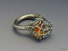 Interstices Citrine Ring, via Flickr.